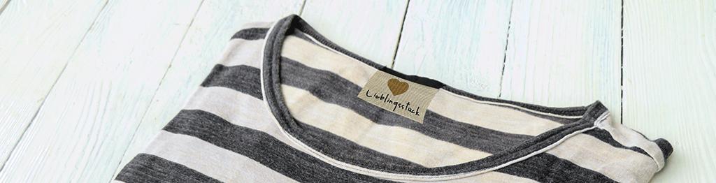 Baumwollbändchen Baumwolletiketten besticken zertifizierte baumwolle